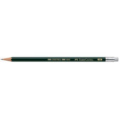 FABER-CASTELL Bleistift CASTELL 9000 mit Radierer