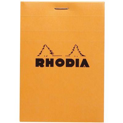RHODIA Notizblock No. 12, 85 x 120 mm, kariert, orange