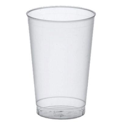 PAPSTAR Kunststoff-Trinkbecher PP, 0,3 l, transluzent, 25er