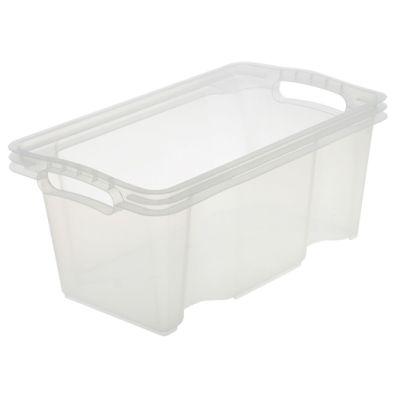 keeeper Aufbewahrungsbox franz, 6,5 Liter, transparent