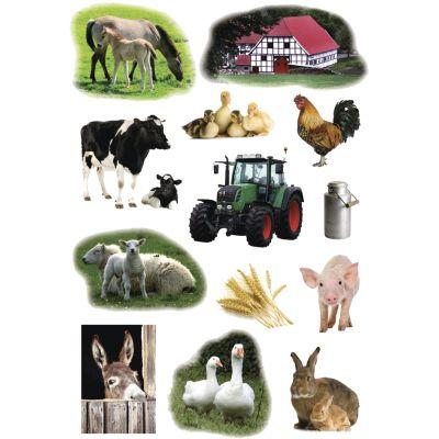 HERMA Sticker DECOR Bauernhoftiere Foto