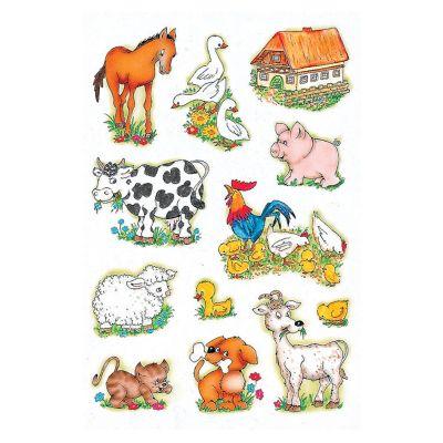 HERMA Sticker DECOR Bauernhoftiere
