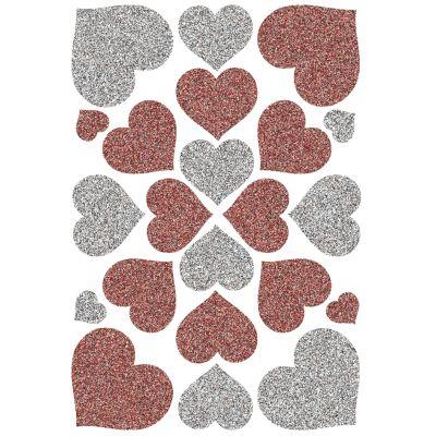 HERMA Sticker MAGIC Schmetterlinge, Glitterfolie