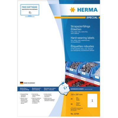 HERMA Folien-Etiketten SPECIAL, 24 x 24 mm, weiß