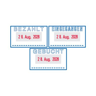 trodat Datumstempel Printy 4.0 4750/L BEZAHLT