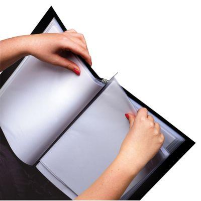 rillstab Sichtbuch Original, DIN A3, 36 Hüllen, schwarz