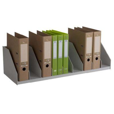 PAPERFLOW Belegfach, feste Einteilung, 9 Fächer, grau