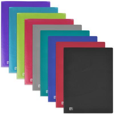 ELBA Sichtbuch Osmose, mit 20 Hüllen, farbig sortiert
