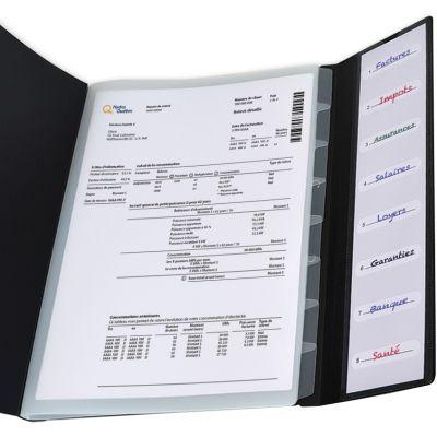 ELBA Ordnungsmappe Osmose, 8 Fächer, DIN A4, PP, sortiert