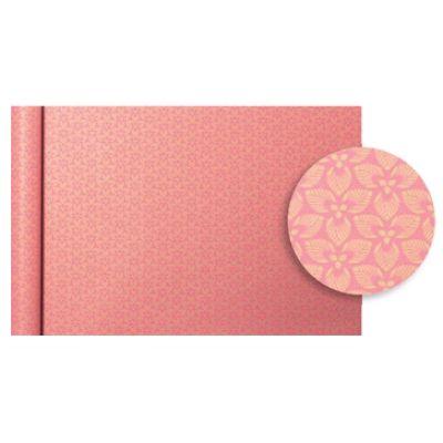 Clairefontaine Geschenkpapier Tiny Rolls Blumen weiß
