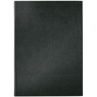 sigel Speisekarten-Mappe, A4, schwarz, Gummi-Bindung, blanko