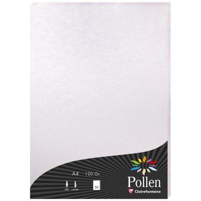 Pollen by Clairefontaine Papier DIN A4, perlmutt-rosa