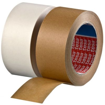 tesapack Verpackungsklebeband 4313, aus Papier, 75 mm x 50 m