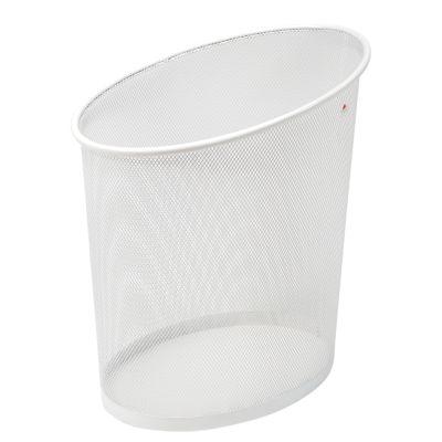 ALBA Papierkorb MESHCORB BC, aus Drahtmetall, 18L, weiß