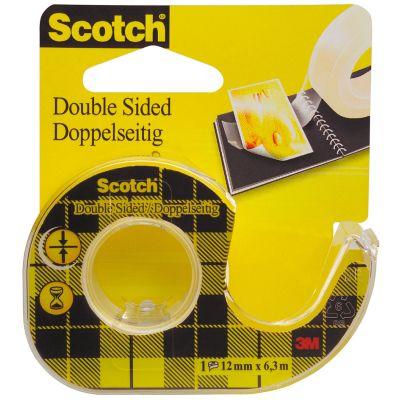 Scotch doppelseitiger Klebefilm 665, 12 mm x 7,9 m