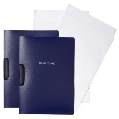 DURABLE Bewerbungs-Set DURASWING JOB, DIN A4, anthrazit