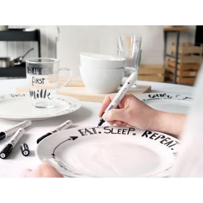 KREUL Glass & Porcelain Pen Classic, weiß