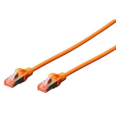 DIGITUS Patchkabel, Kat. 6, S/FTP, 1,0 m, rot