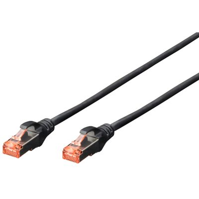 DIGITUS Patchkabel, Kat. 6, S/FTP, 0,5 m, rot