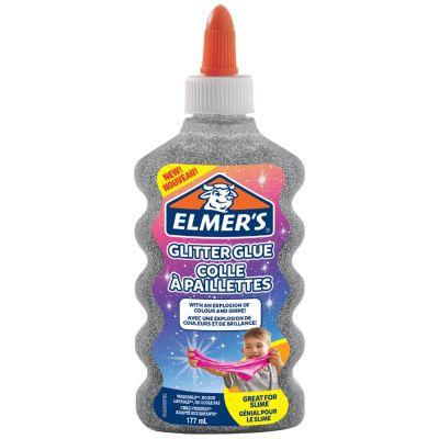 ELMERS Glitzerkleber Glitter Glue violett, 177 ml