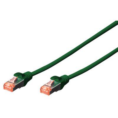 DIGITUS Patchkabel, Kat. 6, S/FTP, 7,0 m, grün