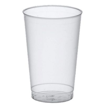 PAPSTAR Kunststoff-Trinkbecher PP, 0,1 l, transluzent, 40er
