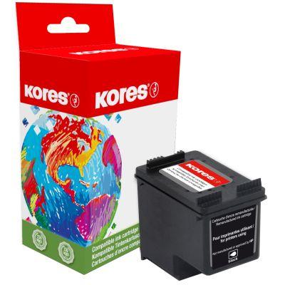 Kores wiederbefüllte Tinte G995BK ersetzt hp C6656A, No. 56