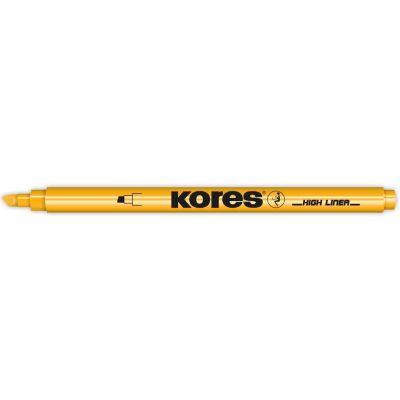 Kores Textmarker-Pen, Keilspitze: 0,5 - 3,5 mm, grün
