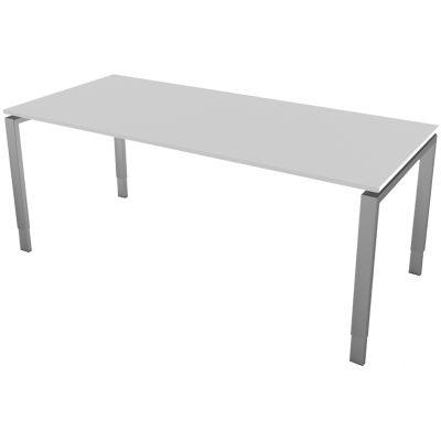 kerkmann Schreibtisch Form 5, (B)1.800 x (T)800 mm,lichtgrau