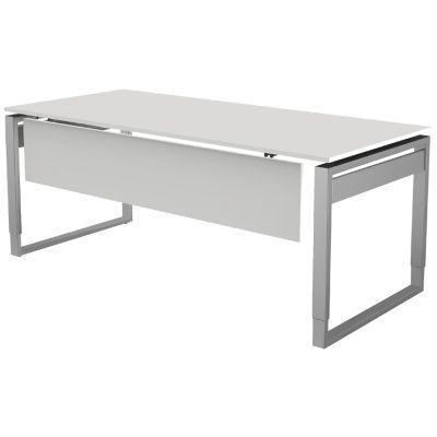 kerkmann Knieraumblende/Sichtschutz für Schreibtisch, weiß