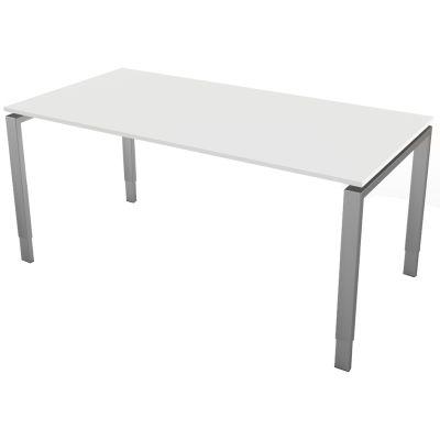 kerkmann Schreibtisch Form 5, (B)1.200 x (T)800 mm, weiß