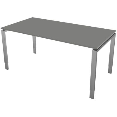 kerkmann Schreibtisch Form 5, (B)1.600 x (T)800 mm, graphit