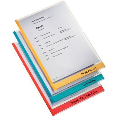 LEITZ Sichthülle Desk Free, A4, PP, genarbt, 0,15 mm