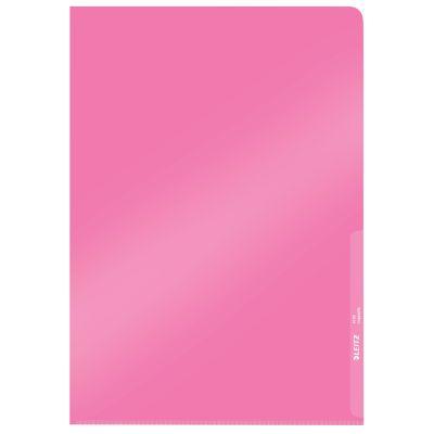 LEITZ Sichthülle Premium, A4, PVC, rot, 0,15 mm