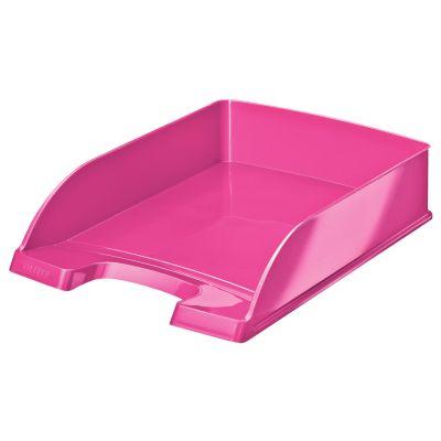 LEITZ Briefablage Plus WOW, A4, Polystyrol, pink