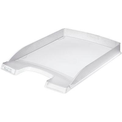 LEITZ Briefablage Plus Flach, DIN A4, Polystyrol, schwarz