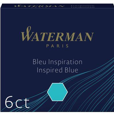 WATERMAN Standard Tintenpatronen, schwarz