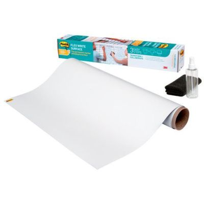 Post-it Flex-Write Whiteboard-Folie, 1.220 x 2.440 mm, Rolle