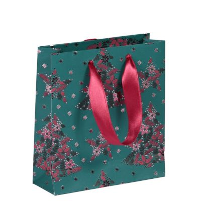 Clairefontaine Weihnachta-Geschenktüte Velvet, groß