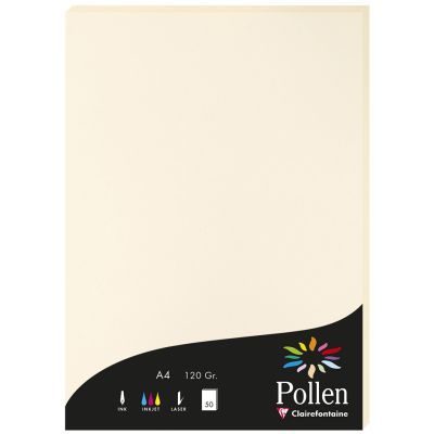 Pollen by Clairefontaine Papier DIN A4, kirschrot