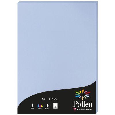Pollen by Clairefontaine Papier DIN A4, lavendelblau