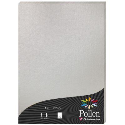 Pollen by Clairefontaine Papier DIN A4, perlmutt-weiß