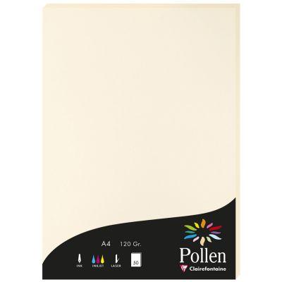 Pollen by Clairefontaine Papier DIN A4, bonbonrosa