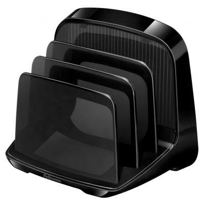 Fellowes Briefständer I-Spire, Kunststoff, schwarz