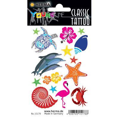 HERMA CLASSIC Tattoo Colour Soccers