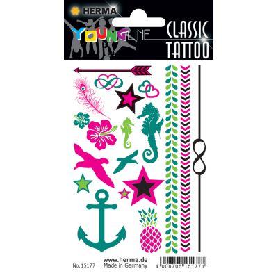 HERMA CLASSIC Tattoo Colour Summerfeeling