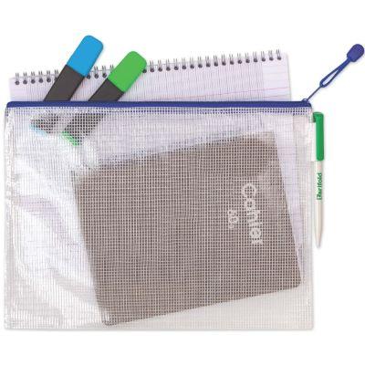 tarifold Reißverschlusstasche ZIPPER, DIN A4, PVC, blau
