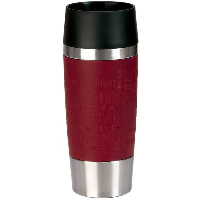 emsa Isolierbecher TRAVEL MUG, 0,36 L., Manschette limette