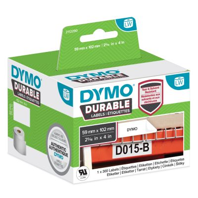 DYMO LabelWriter-Etiketten High Performance, 104 x 159 mm