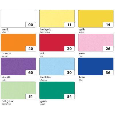 folia Transparentpapier, (B)505 x (L)700 mm, hellgrün